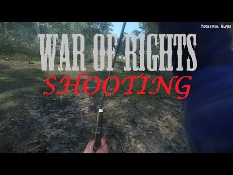 War of Rights - Rifle Gameplay (Drill Camp)