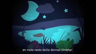 Szép csillagos az ég – Esperanto – subteksto