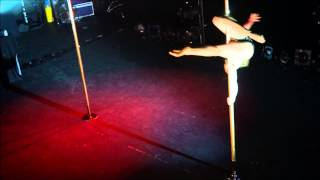 French Pole Dance Competition 2013 : Caroline PoledanceFOlies