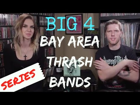 The Big Four Bay Area Thrash Bands: Our Picks + Collection