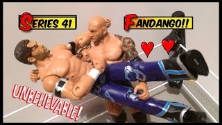 WWE ACTION INSIDER: Fandango Superstars series 41 Mattel Basic Wrestling Figure toy review
