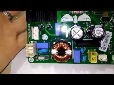 Samsung RB32  Нет запуска инверторного компрессора