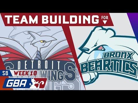 Detroit Steel Wings Teambuilder GBA S8 Week 10 VS Bronx Beartics! • Pokemon Ultra Sun and Moon