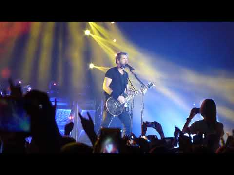 Nickelback - Song on Fire @ Olympijskiy, Moscow, 21.05.18