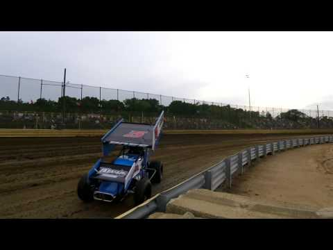 New Egypt Speedway World of Outlaws hotlaps