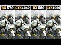 RX 570 (4GB) OC vs GTX 1060 (3GB) OC vs RX 580 (8GB) OC vs GTX 1060 (6GB) OC |