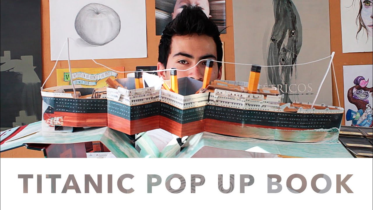 Libro Titanic Titanic Pop Up Book Jeguridos Talk