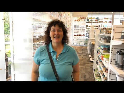 Becky Visits The Container Store