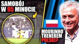 Samobój w 95 minucie na wagę zwycięstwa! Jose Mourinho poprowadzi Reprezentację Polski