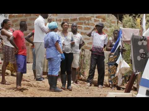 Ebola Survivor and Ambulance Driver sharing experiences