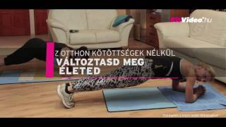 Baixar Eddz otthon a FitVideo folyamatosan frissülő edzéseivel!