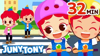 No No Play Safe Song and More   Safety Songs Compilation   Safety Songs for Kids   JunyTony
