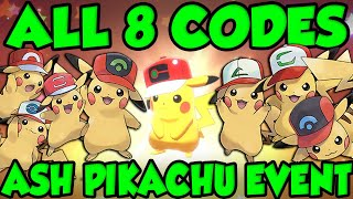ALL 8 ASH CAP PIKACHU CODES! New Pokemon Sword and Shield Mystery Gift Codes