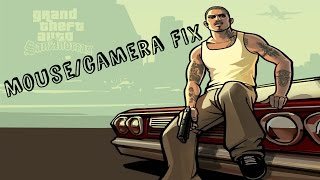 Mouse & Camera FIX GTA San Andreas -  [PC] [Working 2018]