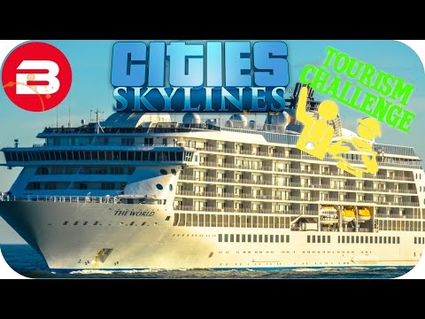 Cities Skylines Gameplay - CUT OFF FROM THE WORLD!!! (Cities: Skylines TOURIST Scenario) #6