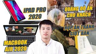 S News t3/T3: iPad Pro, MacBook Air 2020, Dịch vụ giao đồ ăn