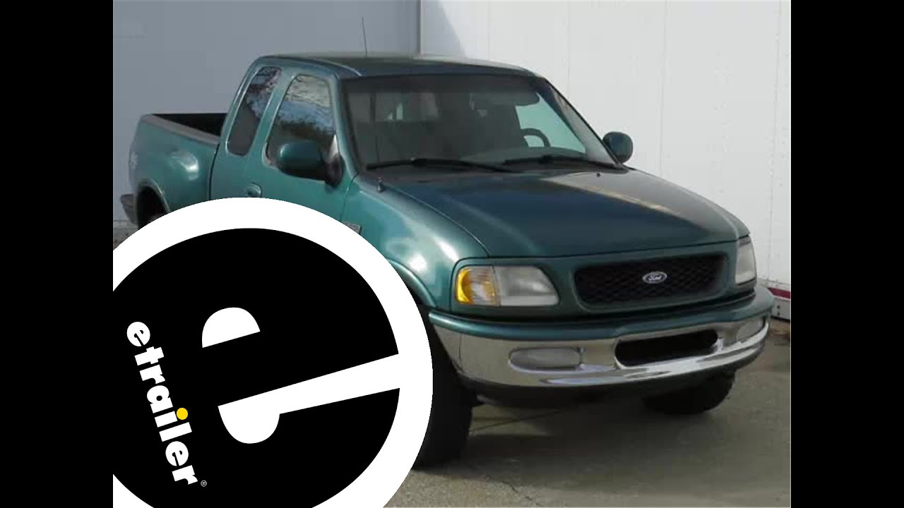 Etrailer Carr Super Hoop Side Steps Installation 1997 Ford F 150 Youtube