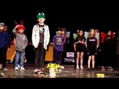 Sequoya Elementary School, Scottsdale, AZ - 2019-20 batch - Grade 2 - Stage performance