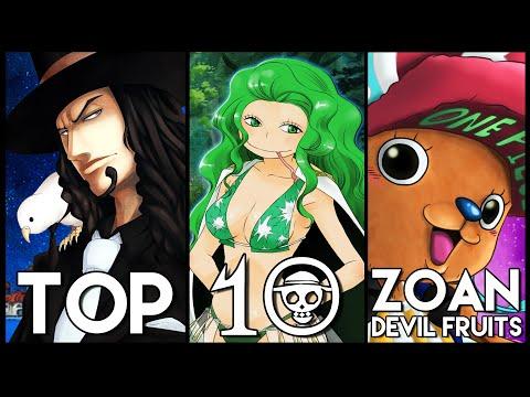 Top 10 Zoan Devil Fruits In One Piece