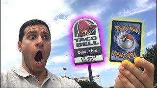 VERY RARE POKEMON CARD PULLED AT TACO BELL!