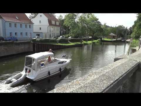 (11) Город Бранденбург. Трамвай, Набережная и детская Площадка.  /Небо Германии/
