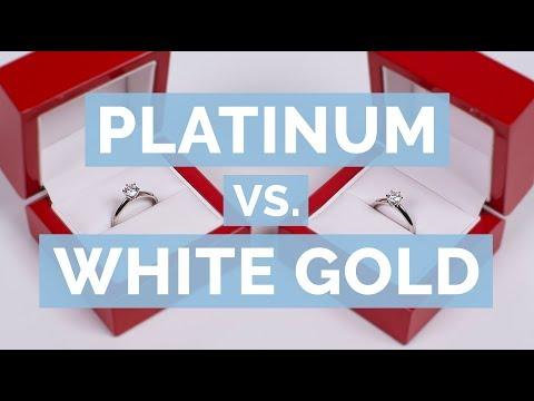 Platinum vs. White Gold   The Diamond Pro Guide