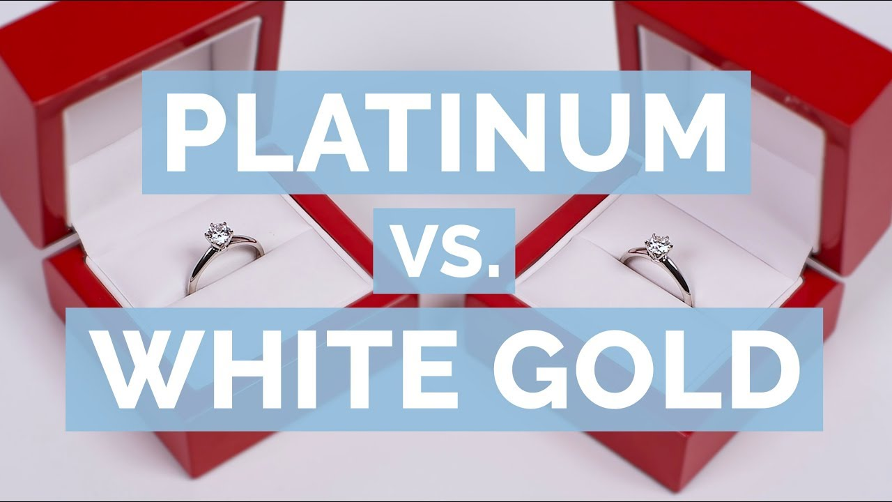 Platinum vs  White Gold vs  Yellow Gold vs  Rose Gold