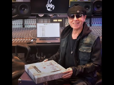 """SCORPIONS post unboxing video for """"Wind Of Change: The Iconic Song"""" Box Set!"""