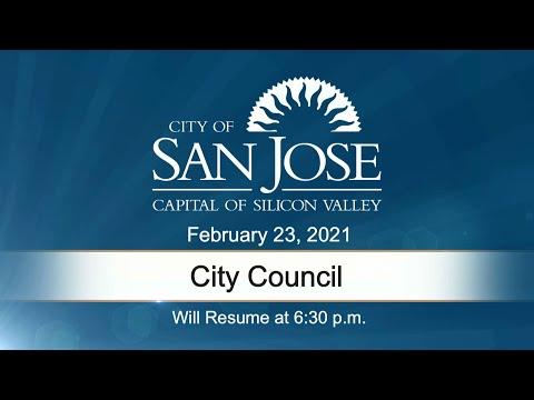 FEB 23, 2021 | City Council Evening Session