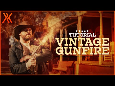 How to create old-fashioned muzzle flashes | HitFilm Express