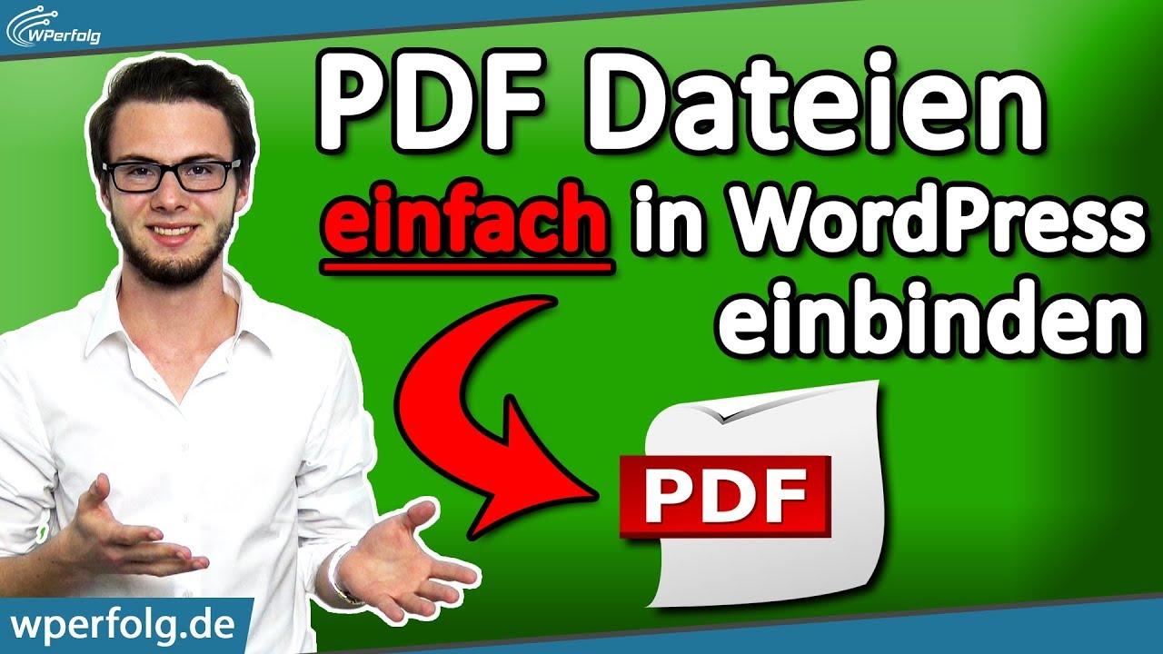 Abnehmen einer PDF-Datei