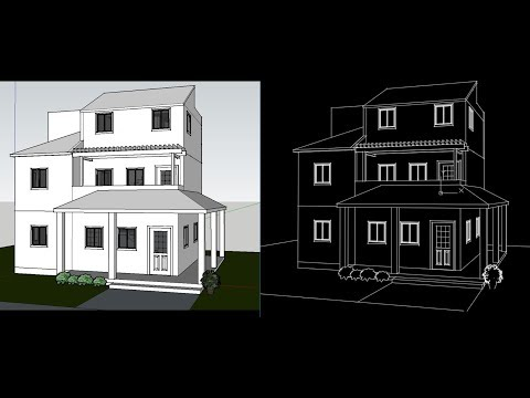 how-to-convert-sketchup-file-in-2d-autocad-file