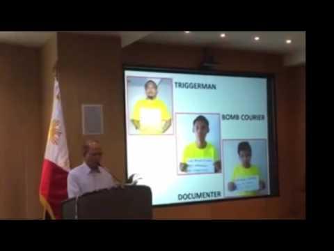 Suspects of Davao Bombing Arrested | PressCon 10/07/16
