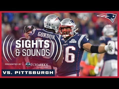 Sights & Sounds   Steelers vs. Patriots