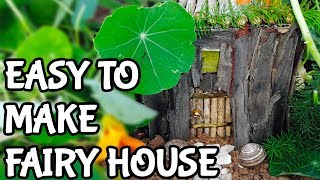 How to make your first fairy house