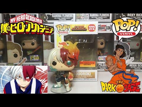 Funko POP Animation My Hero Academia Todoroki *Box Warehouse* EXCL!! Metallic