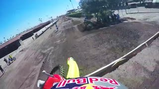 Ken Roczen Qualifying Run POV - Red Bull Straight Rhythm 2015