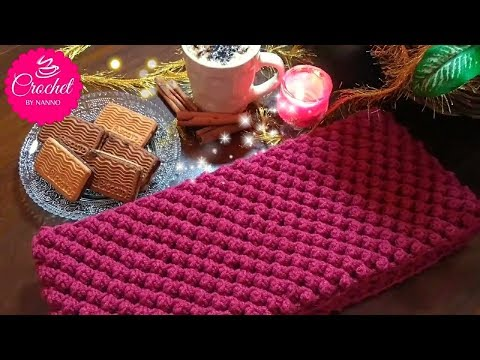 How to Crochet Scarf Cowl /Stitch #1 | Fast & Easy for all l☕ The Crochet Shop xmas gift