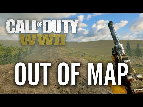 COD WW2 - Out of Map Glitch on Sainte Marie Du Mont