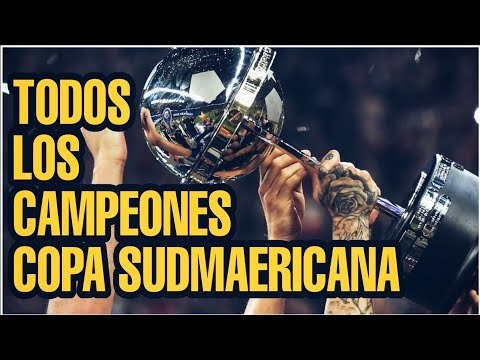 Todos los Campeones Copa Sudamericana