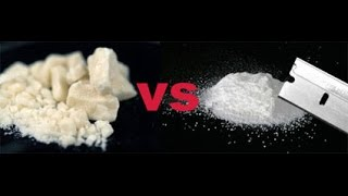 Cocaine vs Heroin  opinion  piece