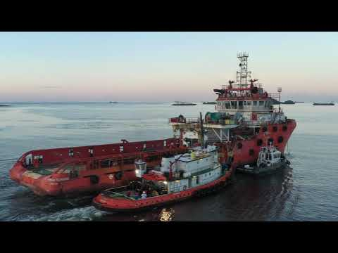 Part 1 - Relocation of three Offshore Support Vessels