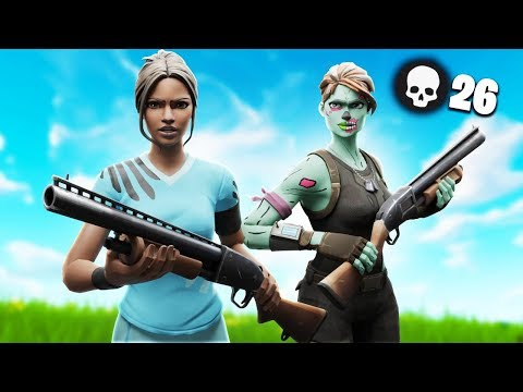 INSANE 27 KILLS DUO SQUADS TILTED TOWERS WITH GHOST INNOCENTS!