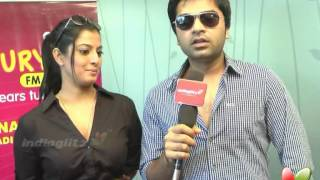Simbu, Varalakshmi speak on Podaa Podi