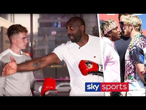 What impact will 10oz gloves & no headguards have in KSI vs Logan Paul? | Joe Weller & Johnny Nelson