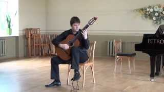 Krivov Kirill plays Roland Dyens - Hommage A Villa Lobos (Climazonie/Andantinostalgie/Tuhu)