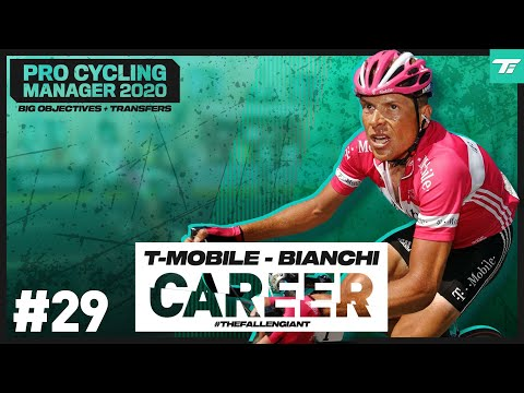 MAJOR OBJECTIVES - #29: T-Mobile - Bianchi Career // Pro Cycling Manager 2020 // #TheFallenGiant