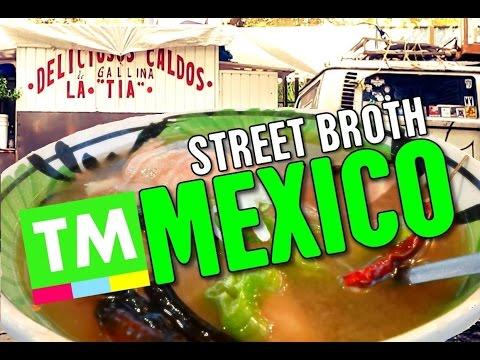Caldo de Gallina! Delicious Chicken Broth | STREET FOOD, Mexico