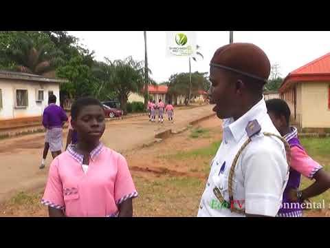 EcoTV Environmental sensitization visits to Idia college, Benin city, Edo state