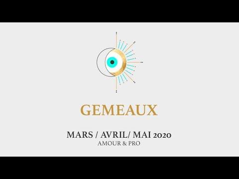 ✨GÉMEAUX ✨ MARS - AVRIL - MAI 2020 🌷 AMOUR & PRO 🗝